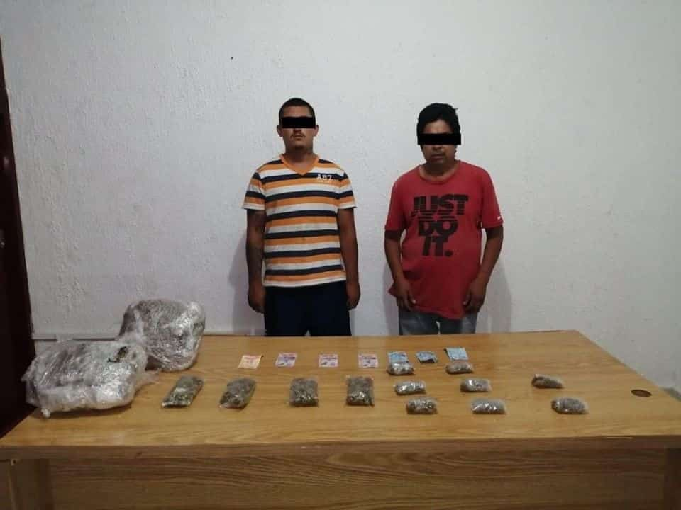 Lograron la detención de dos hombres que traficaban droga