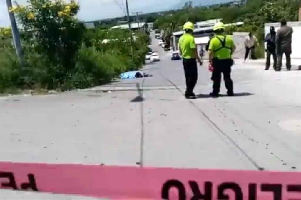 delincuentes en motocicleta lo ejecutaron a balazos