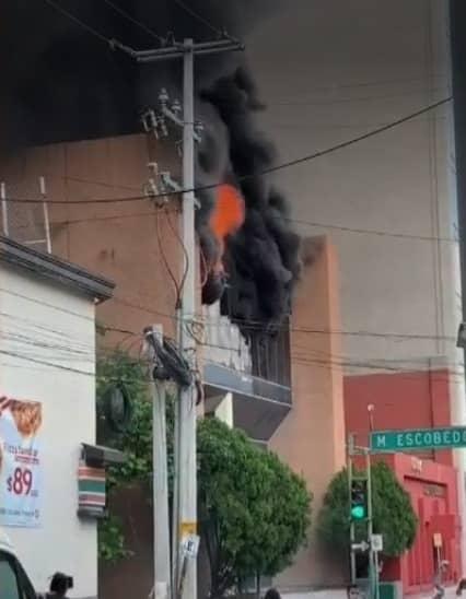 Toman investigaciones sobre el incendio ocurrido en las oficinas de Subsecretaría de Ingresos