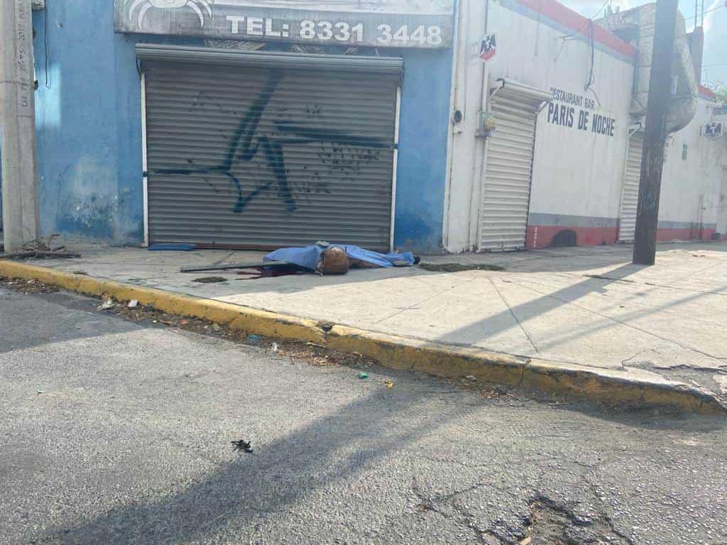 Con un golpe en la cabeza, fue encontrado sin vida en la Avenida Ruiz Cortines