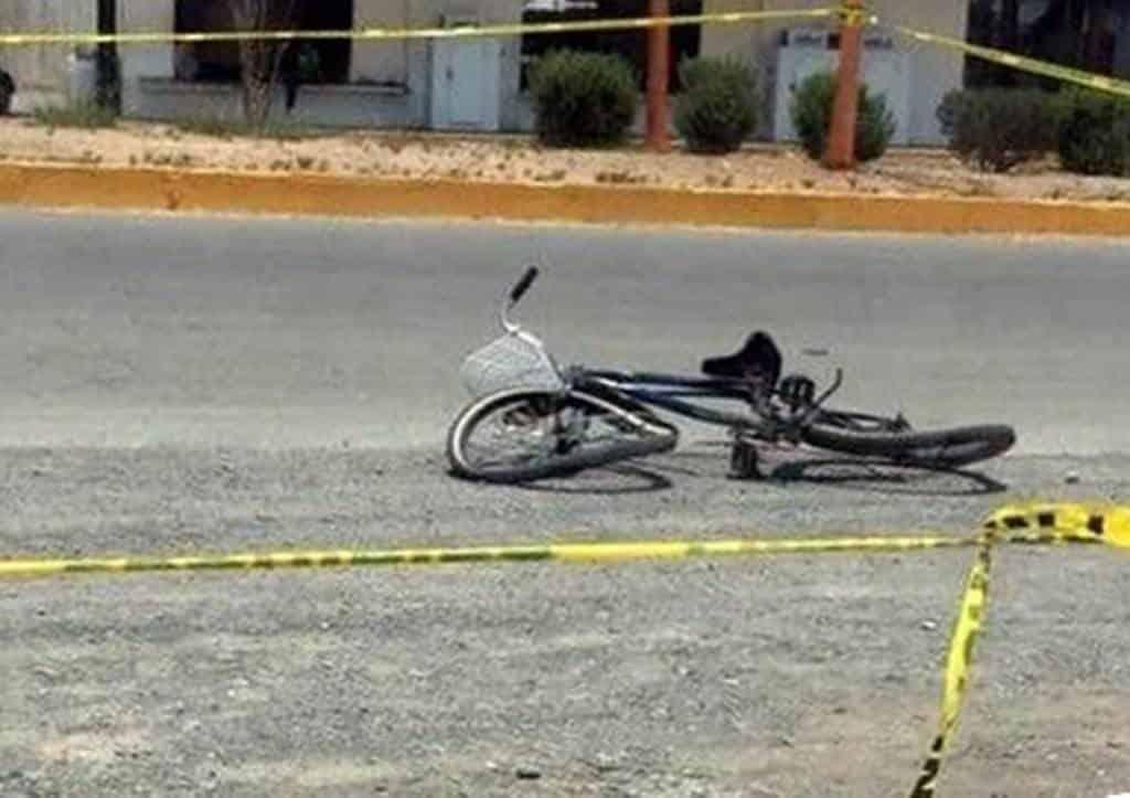 El ciclista perdió la vida en forma trágica, al ser impactada su bicicleta por una camioneta