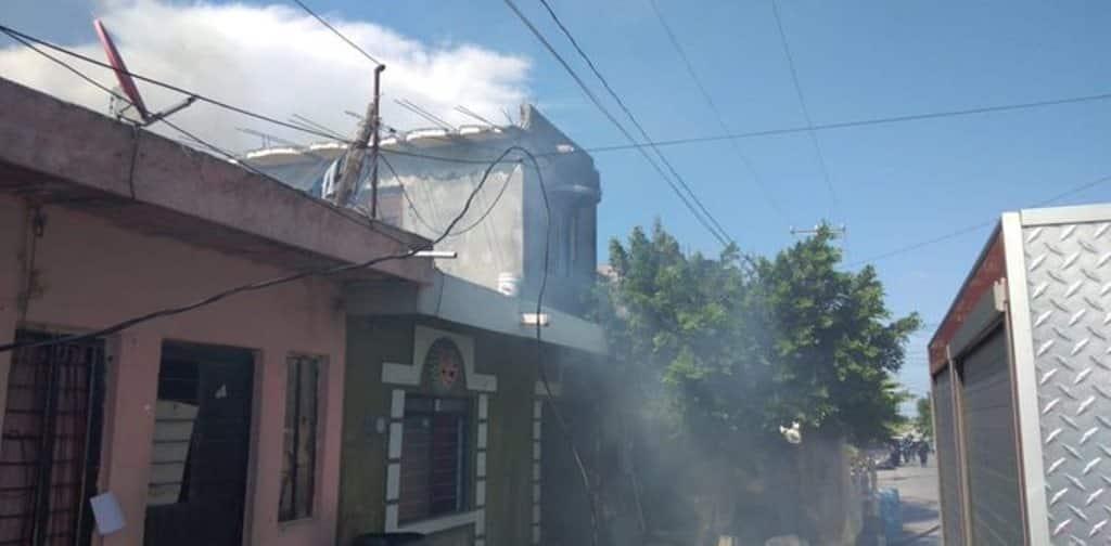 El domicilio se incendió debido a un corto circuito