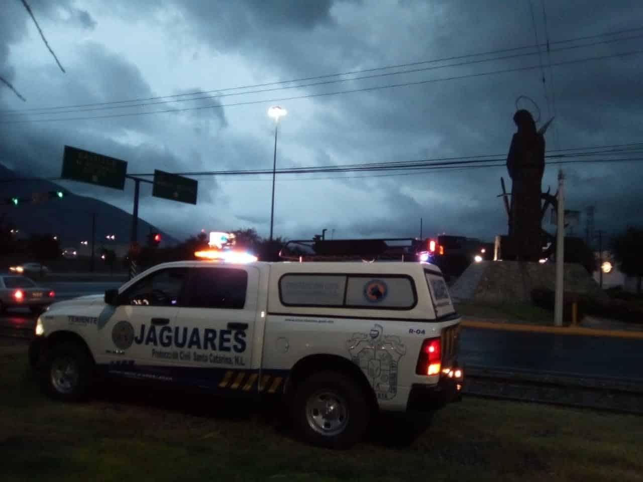 La lluvia y el viento provocaron la muerte de una mujer y lesiones a su hermana