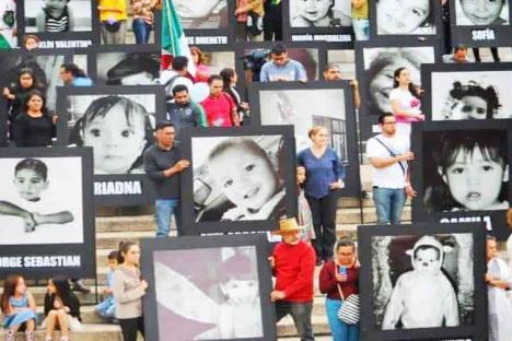 Pagarán 10 mdp a familia de menor fallecida en Guardería ABC