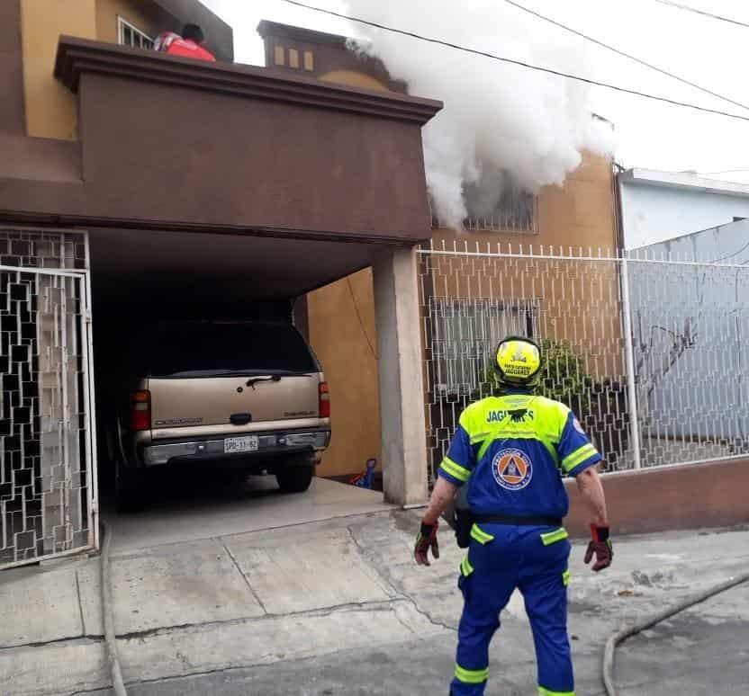 El incendio en Santa Catarina dejó un saldo de dos personas lesionadas