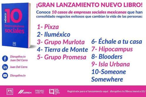 Lanzan libro de 10 casos de empresas sociales mexicanas