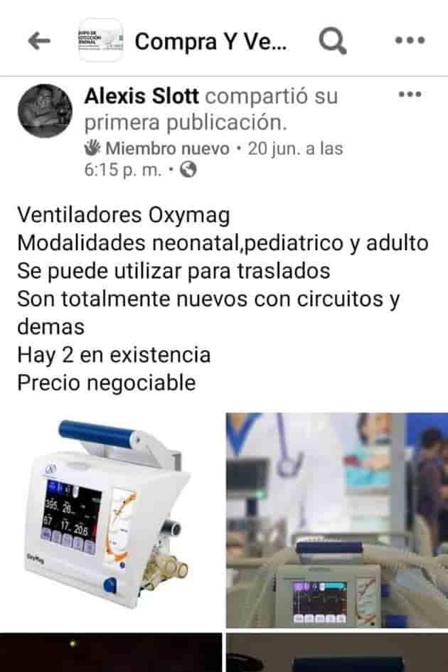 Detuvieron a un inhaloterapista que brindaba servicios a la empresa Ternium, donde se apoderó de dos respiradores valuados en 1.8 millones de pesos