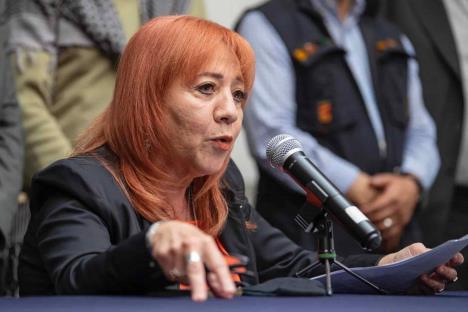 Denuncia Rosario Piedra amenazas de muerte en su contra