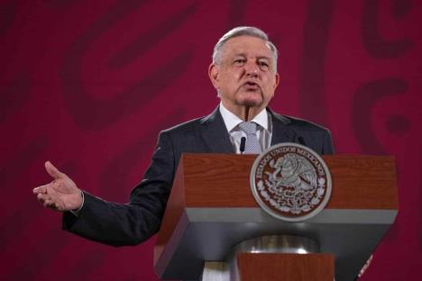 Vamos a Washington con la frente en alto: AMLO