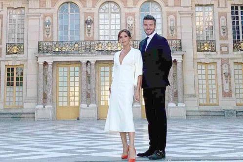 Cumplen David y Victoria Beckham 21 años de matrimonio