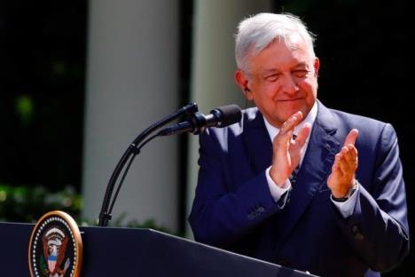 AMLO agradece a Trump por tratar a México como nación libre