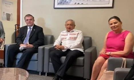 Estamos bien y de buenas, dice AMLO tras reunión con Trump
