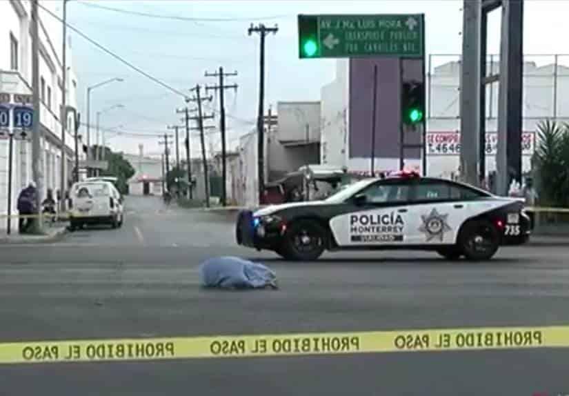 El peatón murió atropellado por un automovilista que tras los hechos se dio a la fuga
