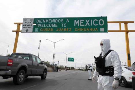 Restricción a viajes no esenciales en frontera se prolonga