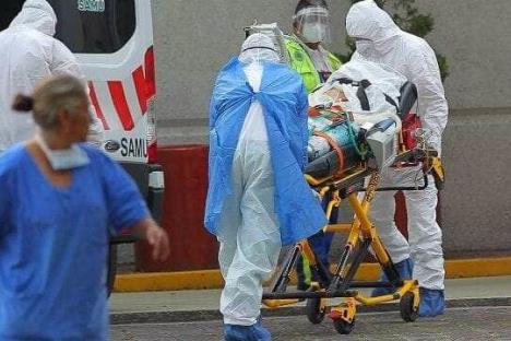 Muertes por coronavirus en México suman 34,730