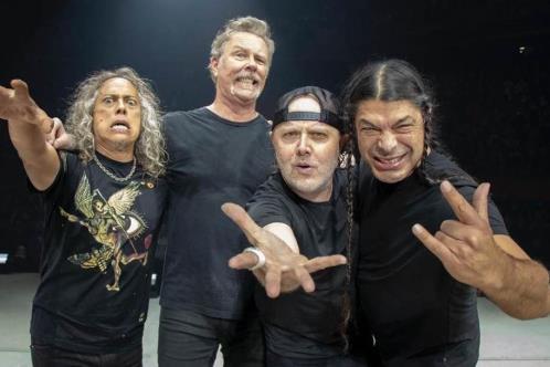 Metallica aporta 295 mil dólares para lucha contra Covid-19