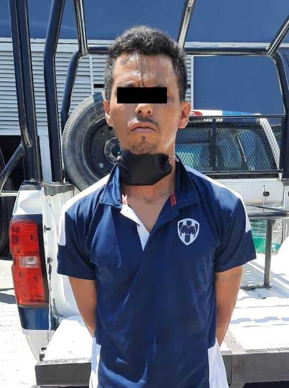 """El narcomenudista fue aprehendido con dosis de """"cristal"""", cocaína y marihuana"""