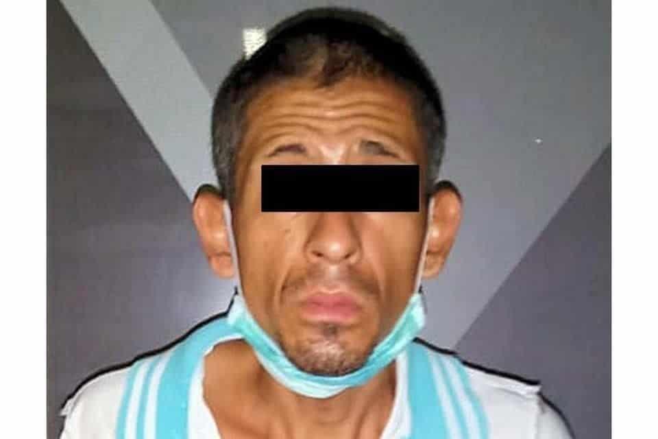 El vendedor de droga fue capturado durante un operativo de seguridad