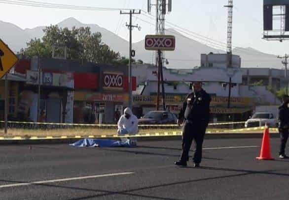 El joven murió atropellado  por un automovilista que se dio a la fuga
