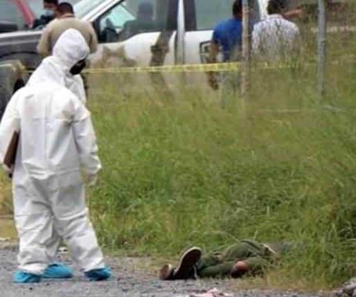 Fue encontrado ejecutado de varios balazos y con sus cuerpos maniatado con trapos