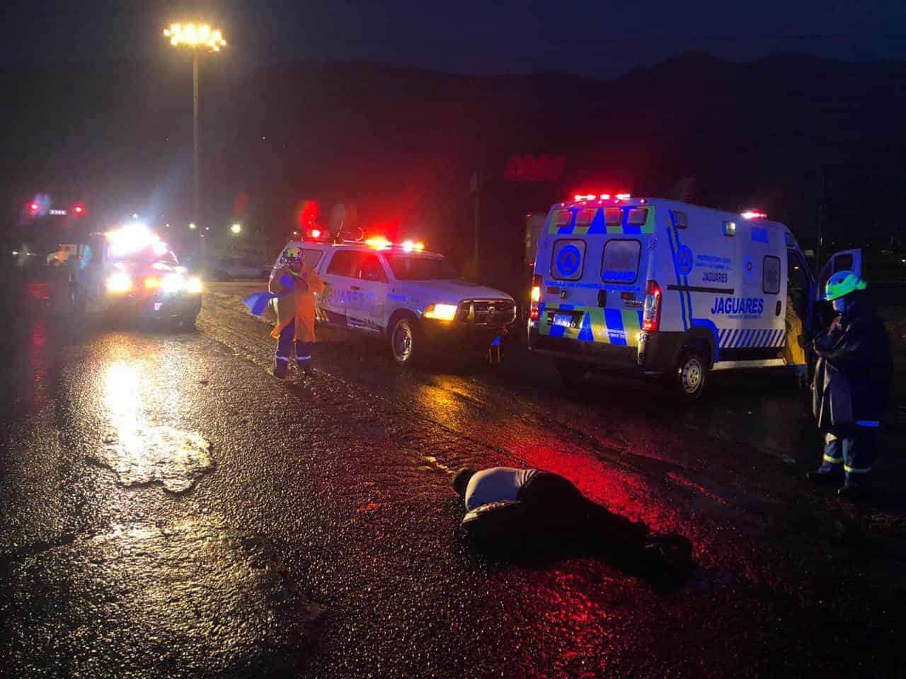 El guardia de seguridad de la tercera edad murió al ser atropellado por un transporte urbano de la Ruta 107