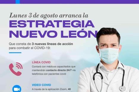"""Arranca hoy """"Estrategia Nuevo León"""""""