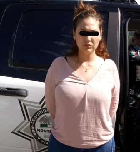 La pareja fue detenida luego de golpear y asaltar a una mujer
