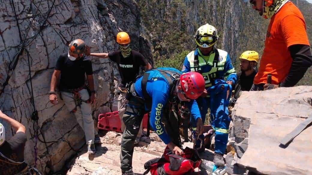 Un excursionista resbaló y falleció al caer a un barranco de al menos 60 metros
