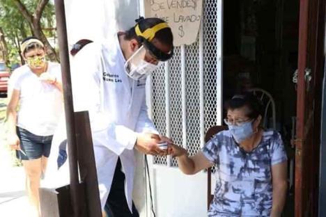 Arranca Salud brigada domiciliarias