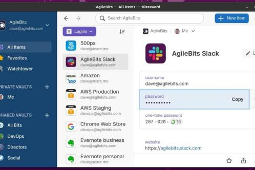 1Password ya tiene aplicación oficial para Linux