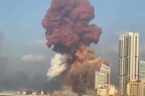 Explosión en Beirut deja cientos de heridos