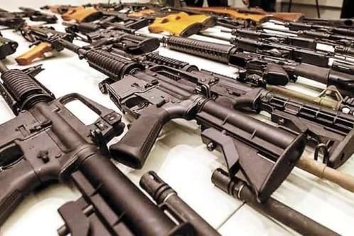 Usan armas de EU en 67% de homicidios en México