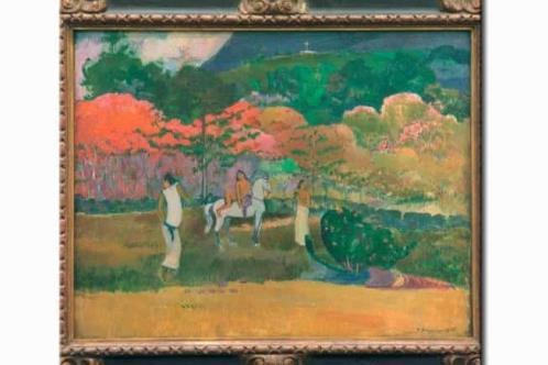 Sospechan  falsificación de dos Gauguin