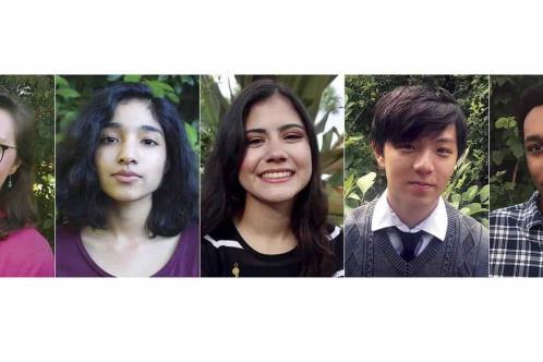 Nombran a Poetas Estudiantes Nacionales