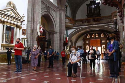 Templos reabrirán este domingo en Guanajuato