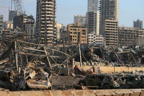 Sin descartar un atentado en explosión de Beirut