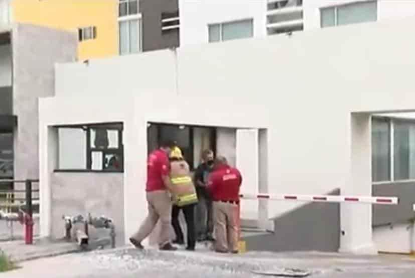 El incendio se registró en un departamento en Colinas de San Jerónimo
