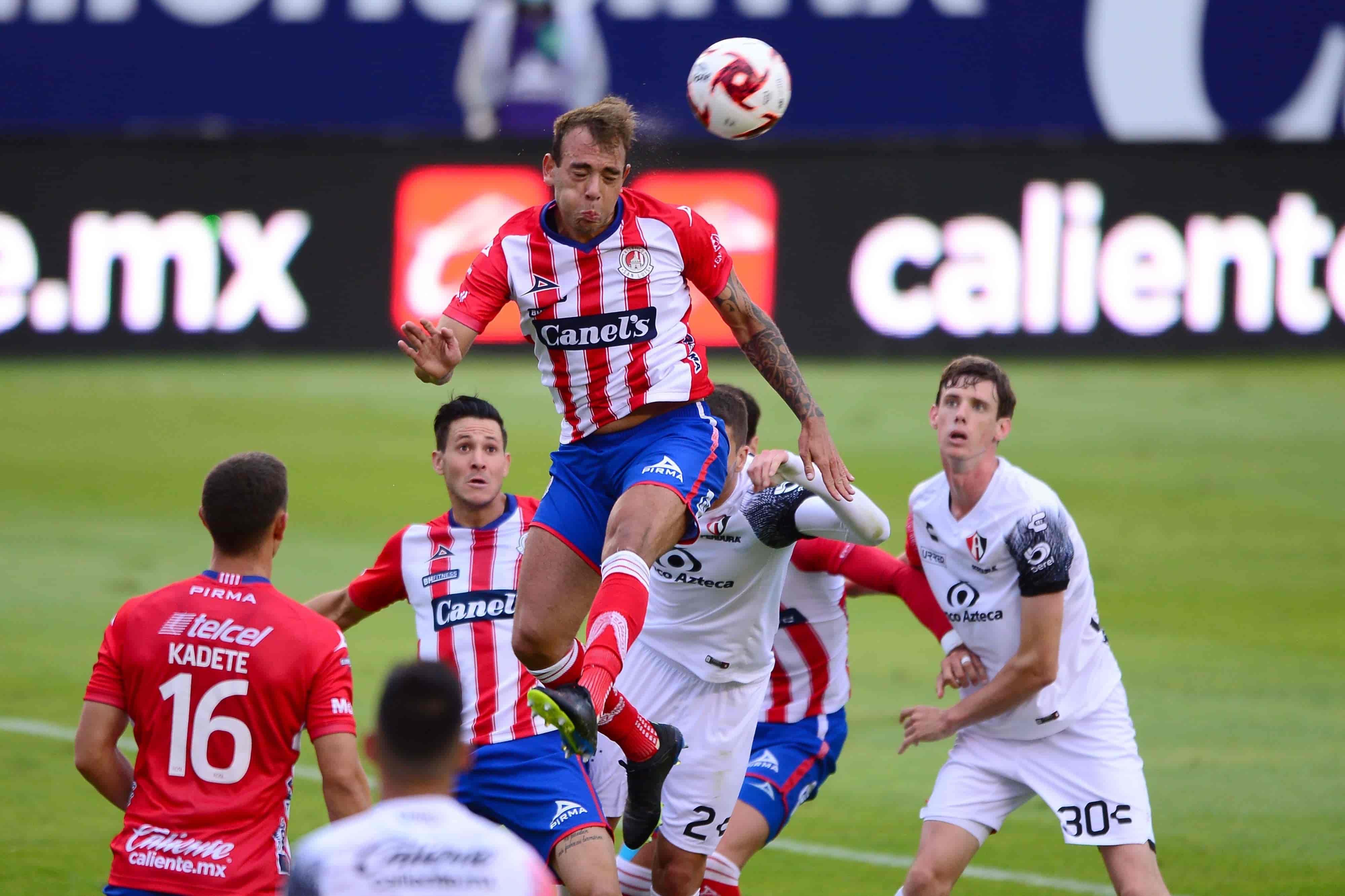 San Luis y Atlas se llevan sacan empate 1-1