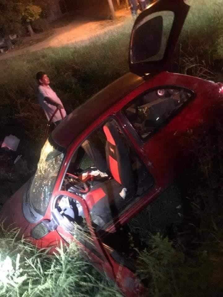 El exceso de velocidad pudo haber ocasionado el accidente vial
