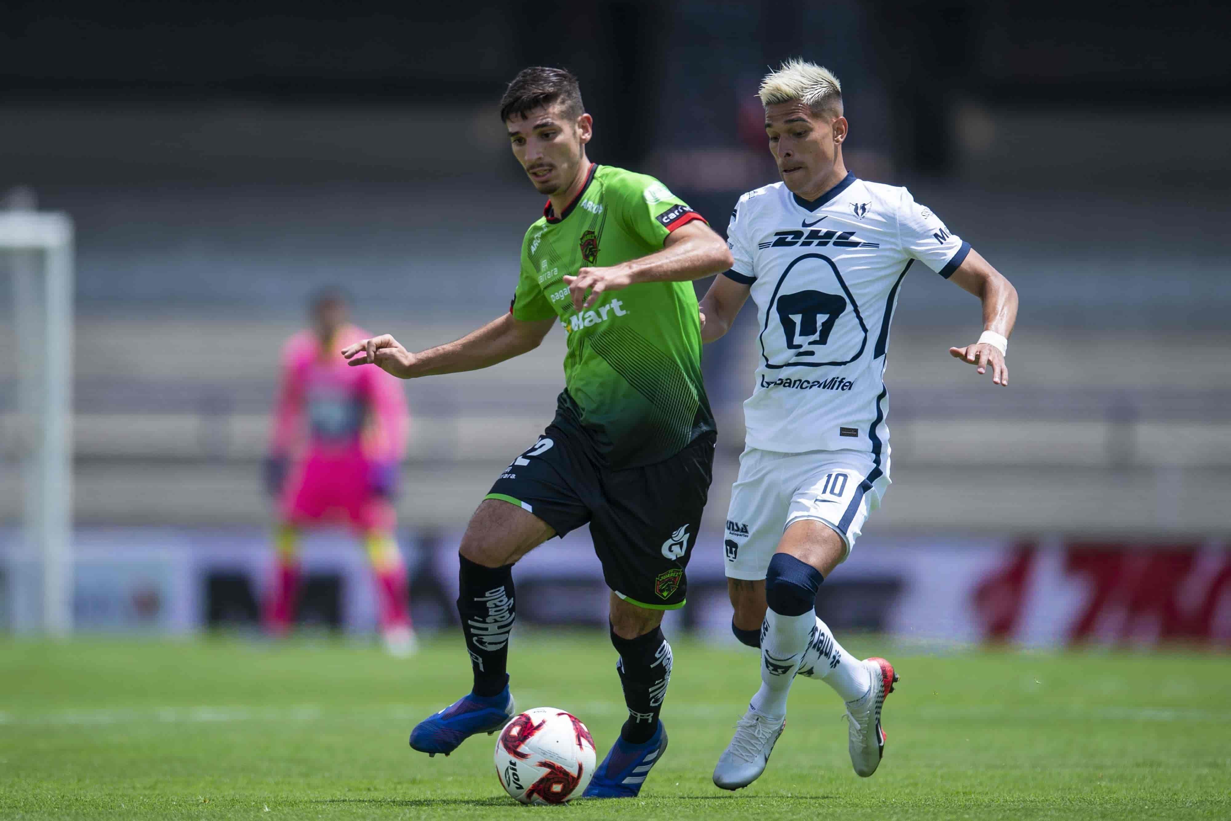 Pumas y Juárez empatan 1-1