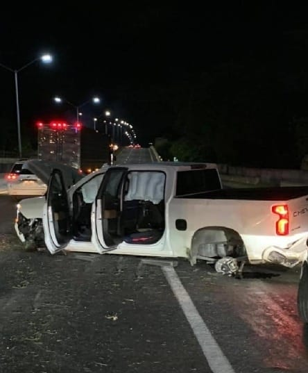 El uso del cinturón de seguridad evitó que sufriera lesiones de consideración