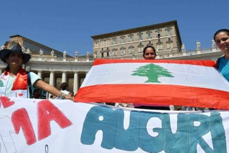 Pide Papa a comunidad internacional ayuda para Líbano