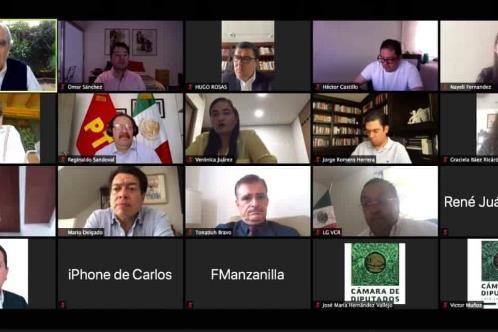 Dialoga Jucopo posibilidad de sesiones semipresenciales