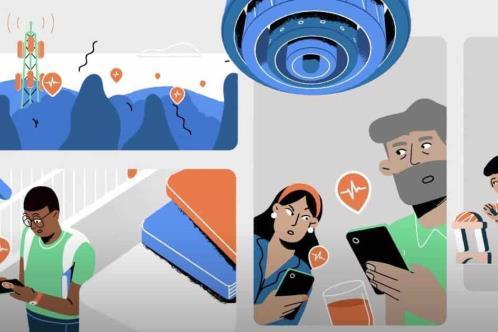 Smartphones Android como sismógrafos