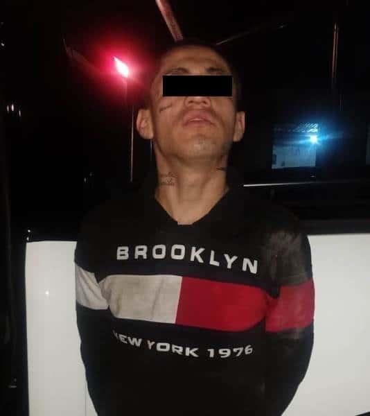 Lo arrestaron al interior del domicilio al que se metió a robar