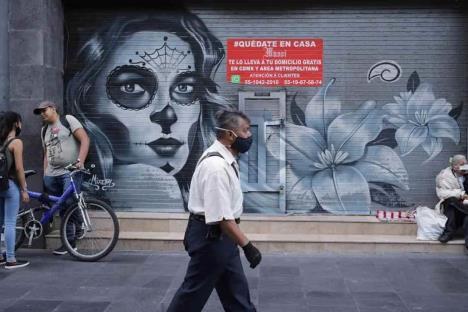 México suma 498 mil contagios y 54 mil muertes por Covid