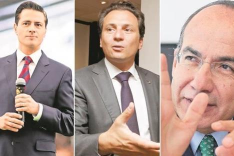 Con denuncia de Lozoya tienen que declarar Peña y Calderón