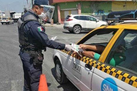 Mantendrán filtros sanitarios en Monterrey
