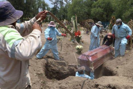 Decretan duelo nacional por muertes a causa de Covid-19