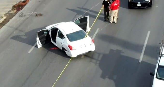 Se reportó la presencia de personas armadas que huyeron al chocar su vehículo